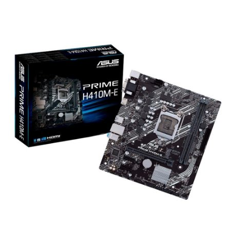 Placa Mãe Asus Prime H410M-E Intel® 10a Lga 1200 mATX DDR4 - 90MB13H0-C1BAY0 - Asus