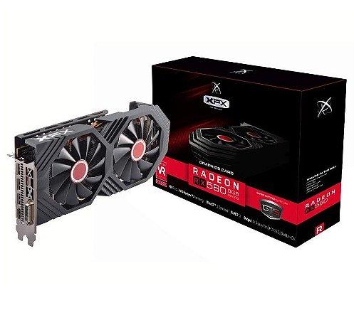 Placa de Vídeo XFX AMD Radeon RX 580 GTS XXX OC 8Gb Gddr5 RX-580P8DFD6 - XFX