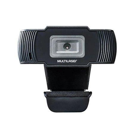Webcam Multilaser Office Hd 720P 30fps Usb AC339 Preta - Multilaser