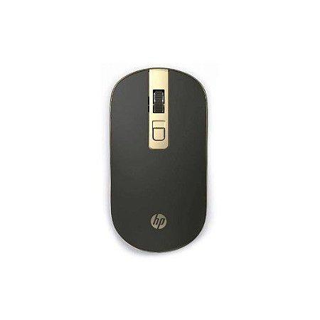 Mouse Sem Fio S4000 1600Dpi Design Slim Preto - Hp