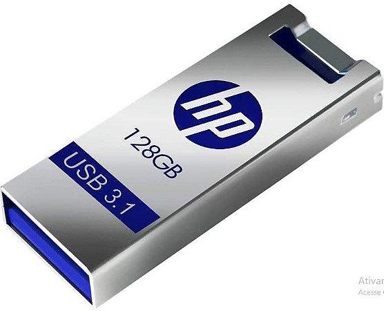 Pen Drive 128Gb Usb Metal X795W - HP