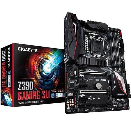 Placa Mãe GIGABYTE Z390 Gaming SLI Intel® - GIGABYTE