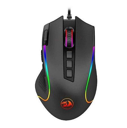 Mouse Gamer Redragon Predator 8000Dpi Rgb Chroma M612 Preto - Redragon