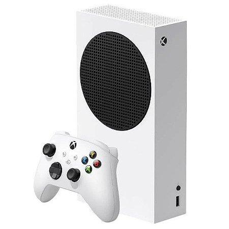 Console Microsoft Xbox Series S 500Gb Ssd Com Controle Branco - Microsoft