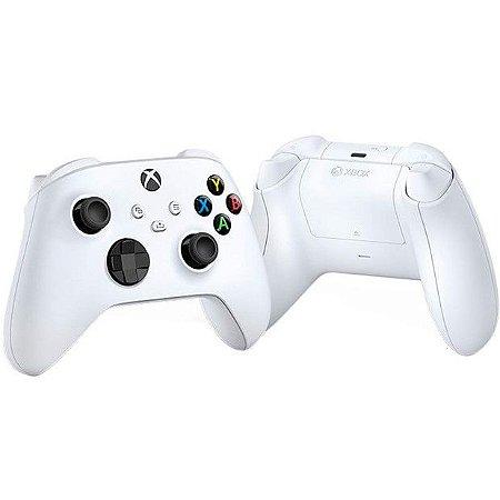 Controle Microsoft Robot White Xbox Series Sem Fio QAS-00007 Branco - Microsoft