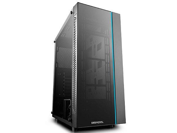Gabinete Gamer Deepcool Matrexx 55 Vidro Temperado Duplo Mid Tower Preto - Deepcool