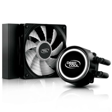 Water Cooler Anti-Leek Gammaxx L120T White 120mm Led Branco - DeepCool