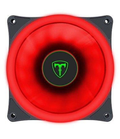 Cooler Fan T-Dagger 120mm T-TGF200-R Led Vermelho - T-Dagger