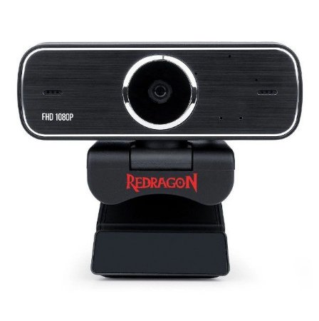 Webcam Redragon Hitman Fhd 1080P Usb GW800 - Redragon