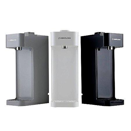 Purificador de Água Declorador Facile C3 Hidro Filtros Cinza