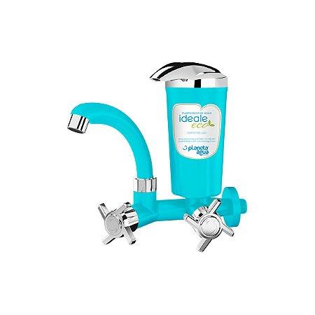 Purificador de Água Ideale Eco Verde Água/ Cromado - Parede