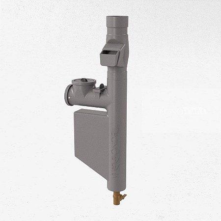 Filtro p/ Coleta de Água da Chuva Smart Filtro- Cinza Escuro