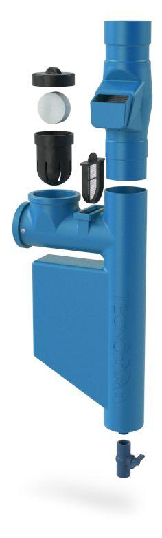 Filtro Para Coleta Água Da Chuva Smart Filtro - Azul Escuro