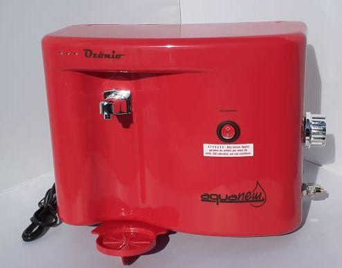 Purificador Ozonizador e Alcalinizador de Água AquaNew Ozon - Vermelho