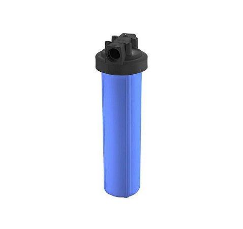 """Carcaça de Filtro Big Blue 20 - Rosca 1.1/2"""" (Vazia)"""