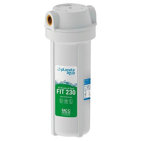 """Filtro Purificador de Água Declorador Fit 230 - Rosca 3/4"""""""