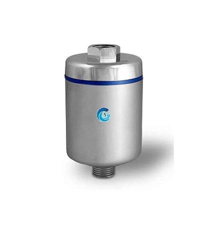 Filtro Terapêutico Cromado para Duchas e Chuveiros