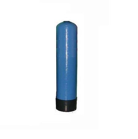 """Tanque em Fibra de Vidro 8 x 35 Abertura Superior 2.5"""" Inferior Fechado - Azul"""