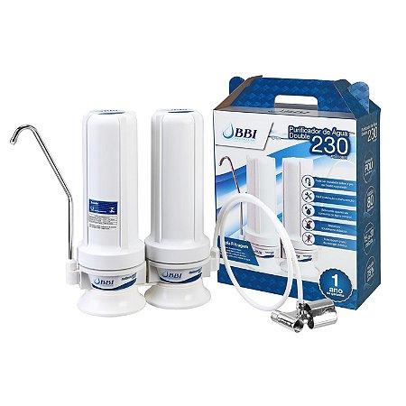 Purificador de Água Declorador p/ Ponto de Uso Double230 BBI