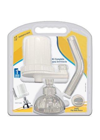 Kit Filtro Purificador para Chuveiro Com Ducha Care Up
