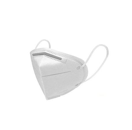 Máscara Respirador de Proteção 3 Camada PFF2 N95 Sem Válvula