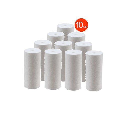 Kit 10 Unidade Refil Polipropileno 10 Micra P/ Filtro Big 10