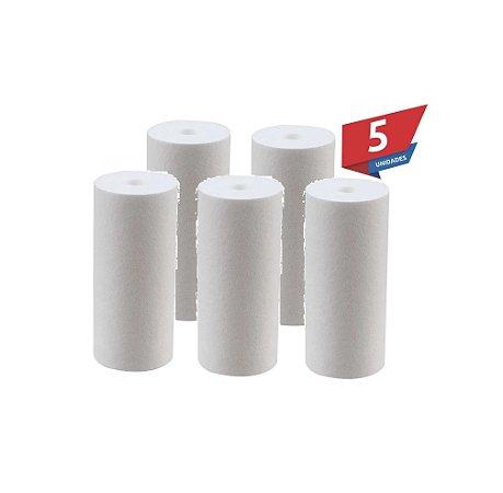 Kit 5 Unidades Refil Polipropileno 20 Micra P/ Filtro Big 10