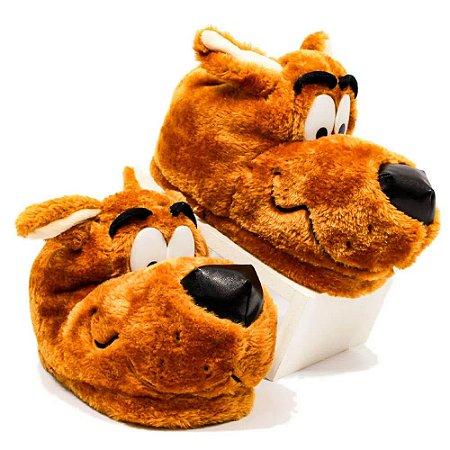 Pantufa Unissex Scooby Doo Tamanho M 36/38 Zona Criativa