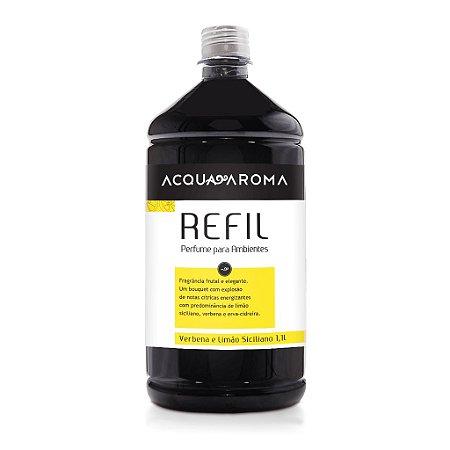 Refil para Difusor de Ambientes Verbena e Limao Siciliano 1,1L  Acqua Aroma