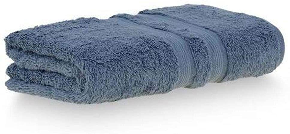 Toalha banho algodão egipcio 77x140 azul Buddemeyer