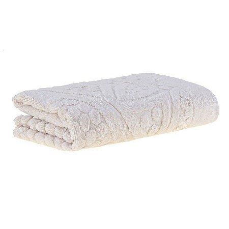 Toalha de rosto lanai air 48x80 bege Buddemeyer