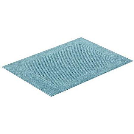 Toalha piso pés 48x70 azul Buddemeyer