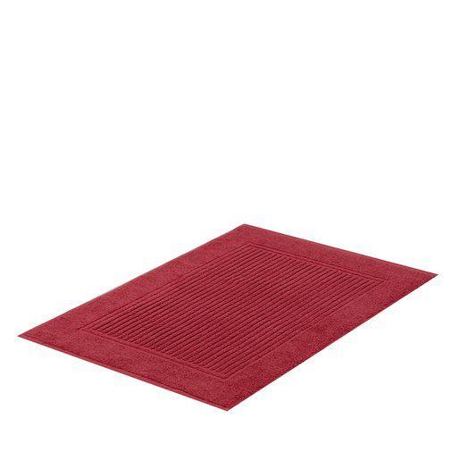 Toalha piso pés 48x70 vermelho Buddemeyer