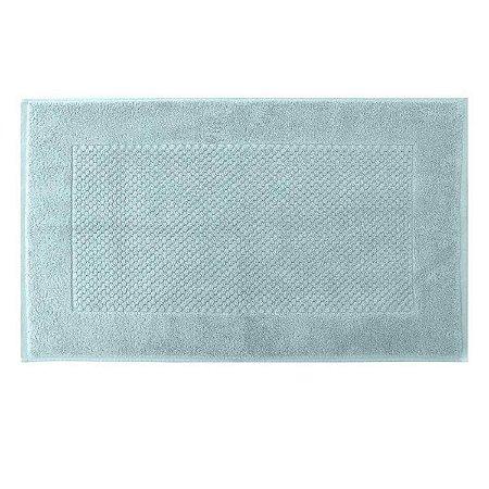 Toalha piso pés luxor 48x80 azul Buddemeyer