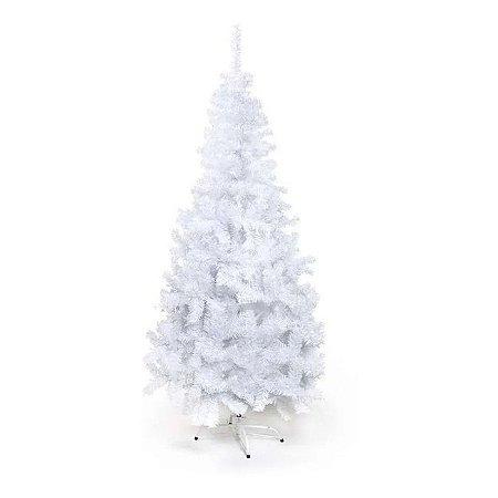 Arvore De Natal Portobelo Branca 150cm 1un Cromus
