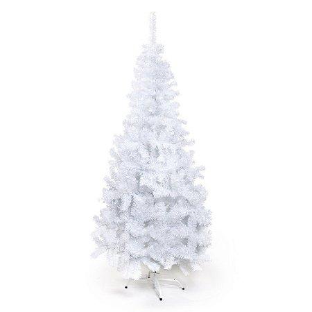 Arvore De Natal Portobelo Branca 210cm 1un Cromus