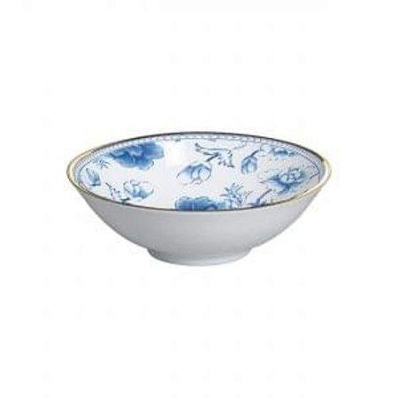 Jogo de Bowl Premium Chinese Blue Filete Ouro 6 unidades Alleanza