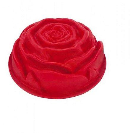 Forma De Silicone Rosa Avulsa Mimo Style