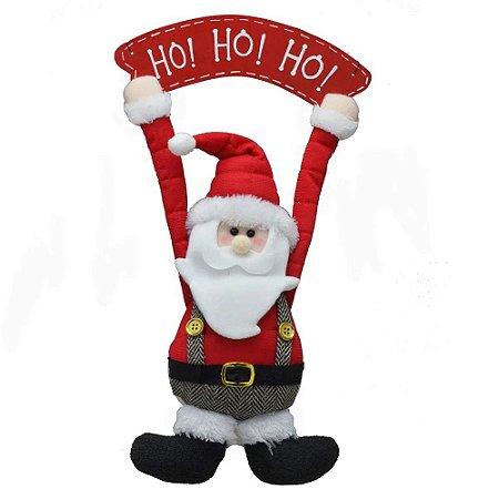 Enfeite De Porta/Pendurar Papai Noel Natal Mabruk