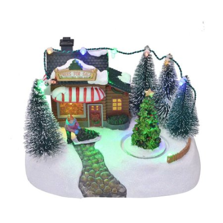 Vila Natalina Arvore de Natal Som Luz e Movimento Mabruk