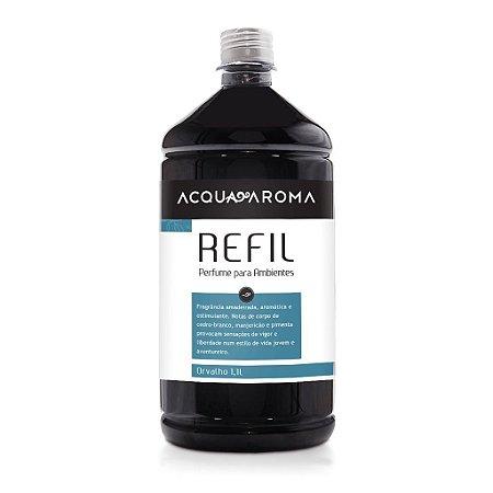 Refil Perfume para Ambientes Acqua Aroma Dia a Dia 1,1L Orvalho