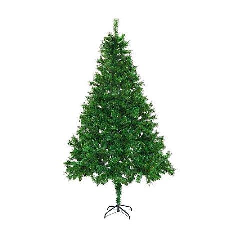 Arvore De Natal Verde Com 859 Galhos E 210cm Mabruk