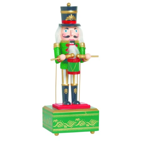 Soldadinho de Chumbo Quebra Nozes Verde Musical Natal Cromus