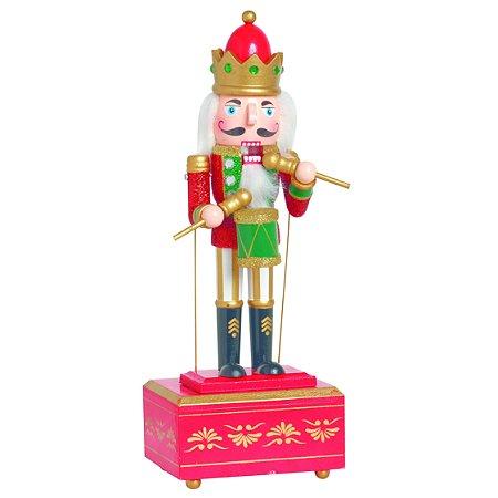 Soldadinho de Chumbo Quebra Nozes Vermelho 30cm Natal Cromus