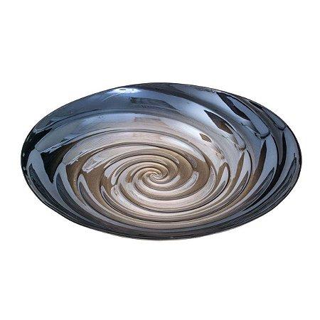 Centro De Mesa Decorativo De Vidro Sodo-calcico Spiral Lyor