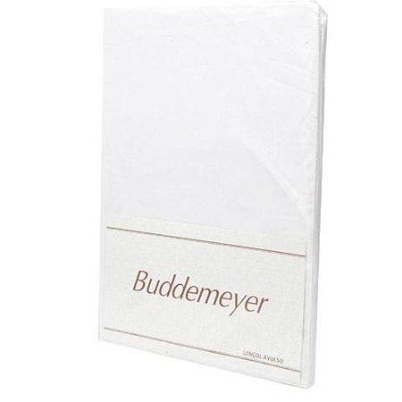 Lençol Avulso Super King Basic Percalle Branco Buddemeyer