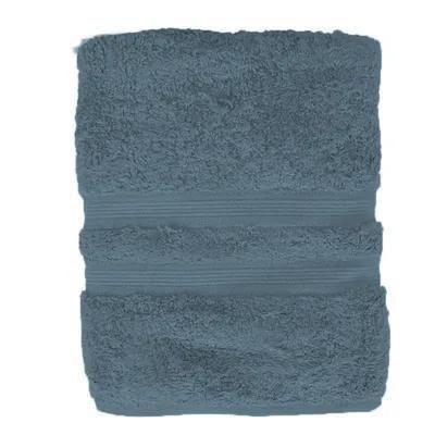 Toalha de Rosto Algodão Egípcio Azul  48x90cm Buddemeyer