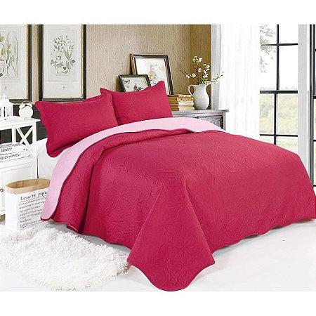 Cobre Leito Lisa King Vermelha Hibisco  2,6x2,8cm Sultan