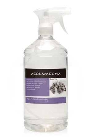Água Perfumada de Lençol Lavanda 1,1L Acqua Aroma
