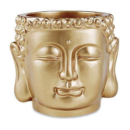 Cachepot Dourado em Cimento Mart Collection